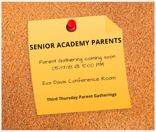 Parent Gathering -May