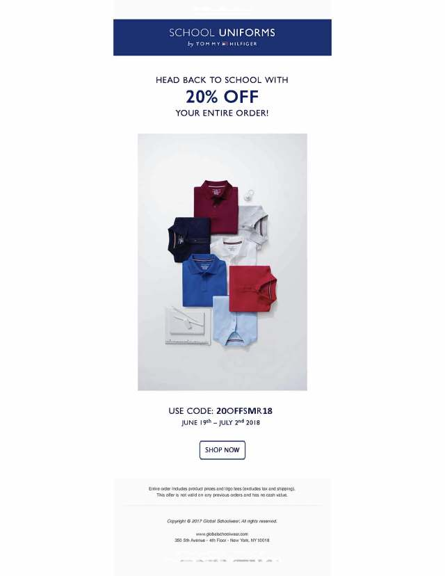June 2018 20 Percent Off