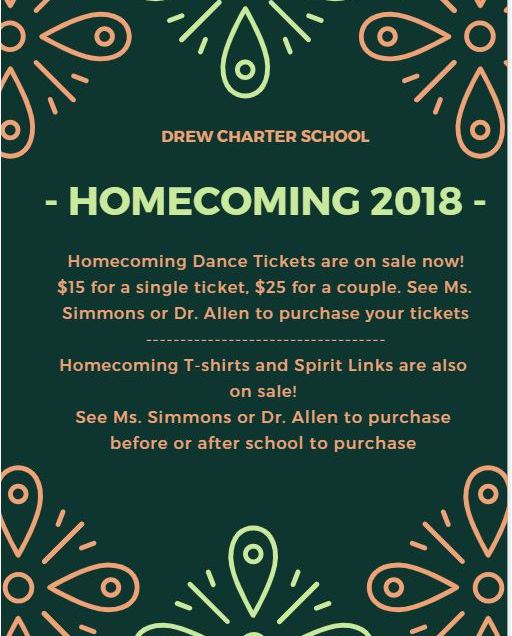 1819= Homecoming Announcement